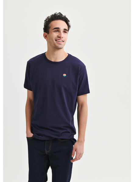MESSAGE FACTORY MESSAGE FACTORY HOMME T-SHIRT FIRST STEP MARINE