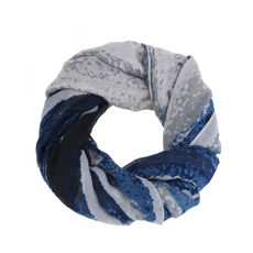 CARACOL CARACOL SCARF MURAILLE DE CHINE BLUE