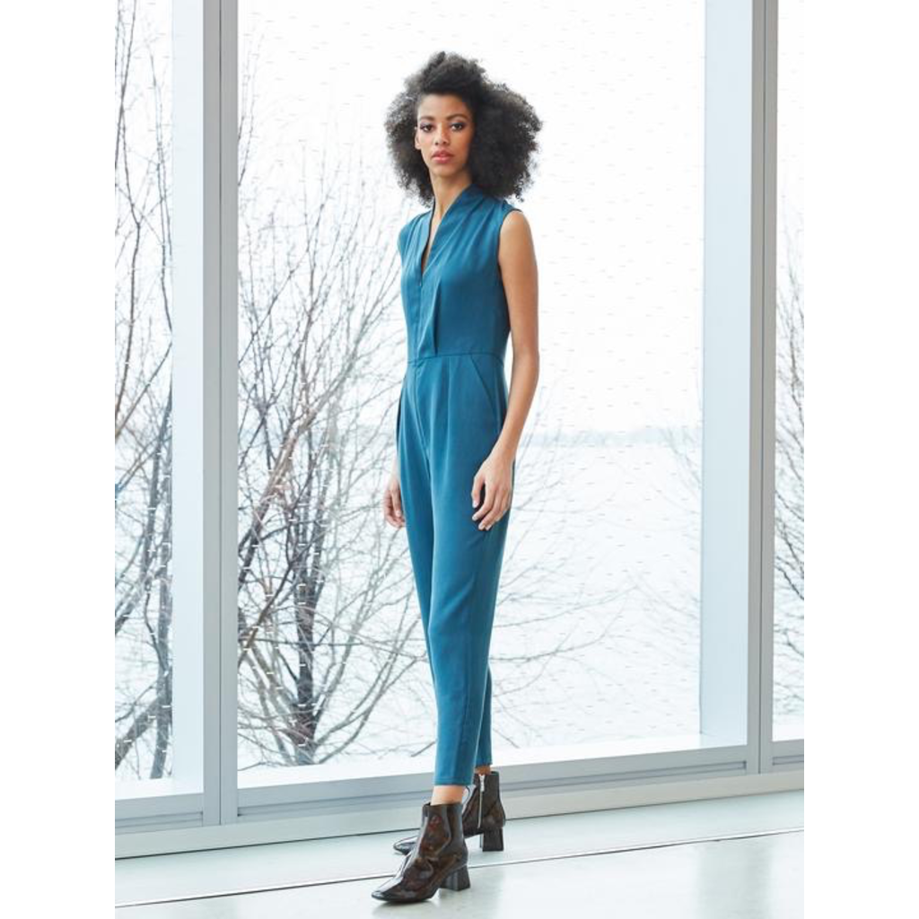 DAGG AND STACEY DAGG AND STACEY JUMPSUIT DARBY MARINE