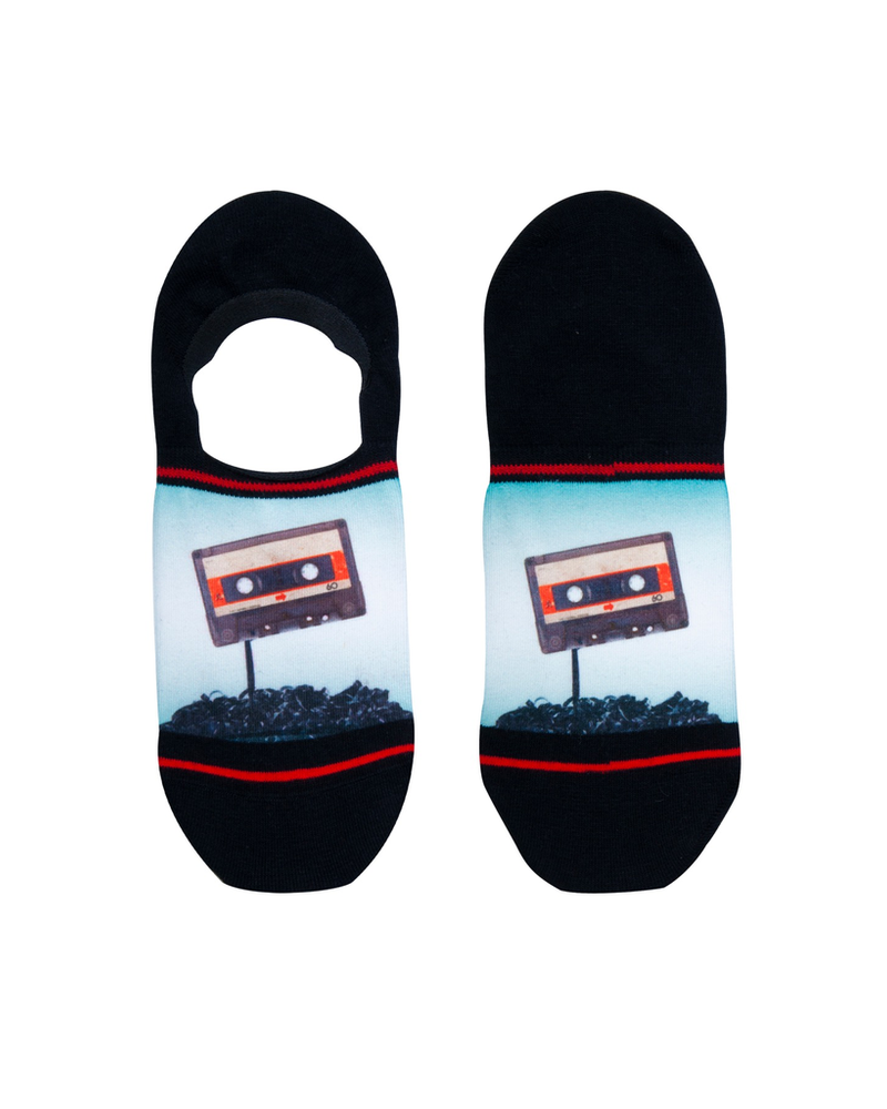 XPOOOS XPOOOS CHAUSSETTE COURTE CASETTE TAPE