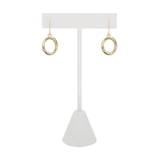 CARACOL CARACOL CIRCLE EARRINGS GOLD