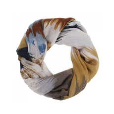 CARACOL CARACOL SCARF VERNISSAGE MUSTARD