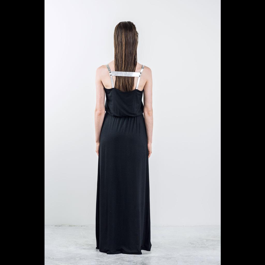 BODY BAG BODYBAG DRESS LONG PRAGUE BLACK