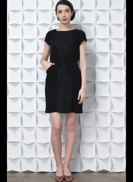 JENNIFER GLASGOW RUSKA DRESS BLACK