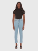 LOLA JEANS LOLA JEANS MID RISE STRAIGHT ANKLE KRISTINE CLEAR WATER