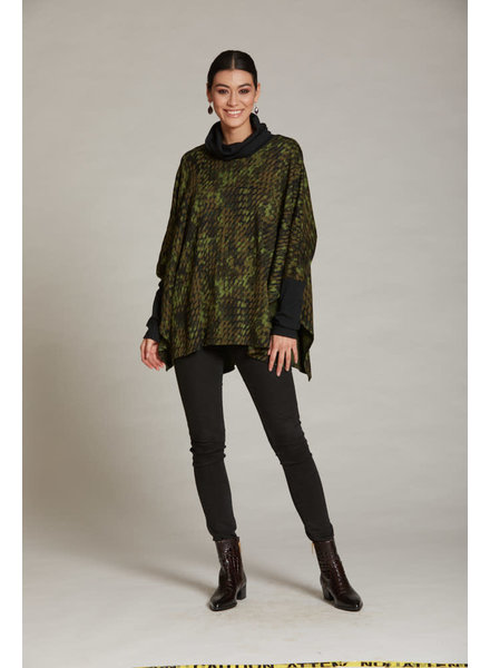 LUC FONTAINE LUC FONTAINE PONCHO LEGACY TONS VERT