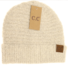 CC TUQUE BOUCLE YARN BEIGE