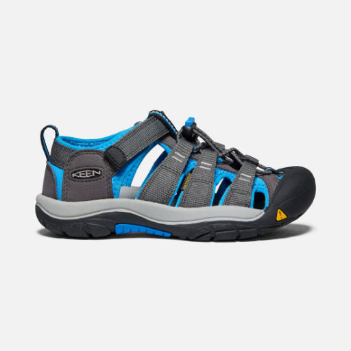 KEEN NEWPORT H2 YOUTH MAGNET/BRILLIANT BLUE