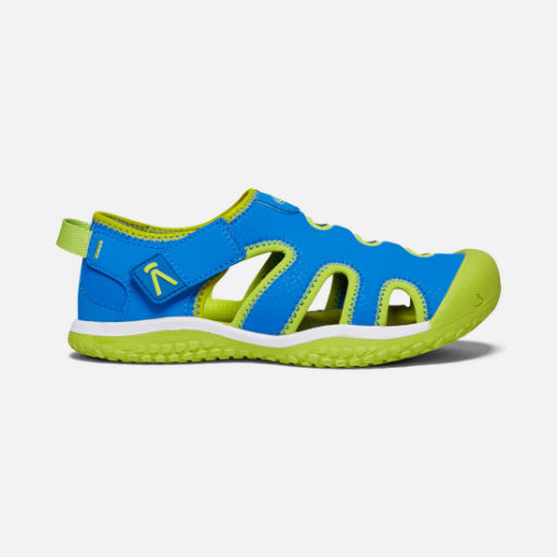 KEEN STINGRAY CHILDRENS BRILLIANT BLUE/CHARTREUSE