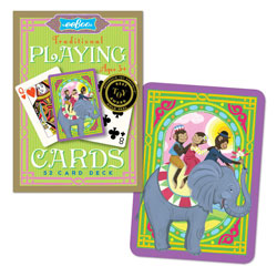 EEBOO MONKEYS TRADITIONAL 52 PLAYING CARDS