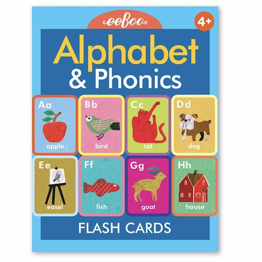 EEBOO ALPHABET AND PHONICS FLASH CARDS