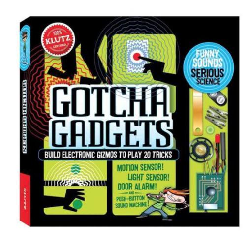 KLUTZ BUILD YOUR OWN GOTCHA GADGETS