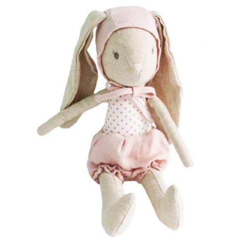 ALIMROSE BABY GIRL BUNNY IN BONNET