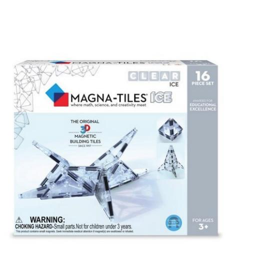 MAGNA-TILES MAGNA-TILES ICE 16 PIECE SET