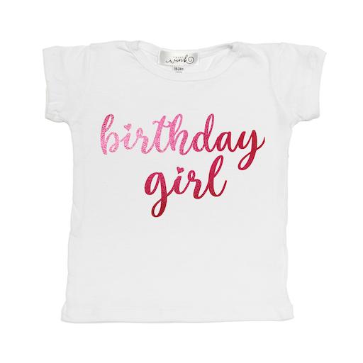 SWEET WINK BIRTHDAY GIRL S/S TEE SHIRT