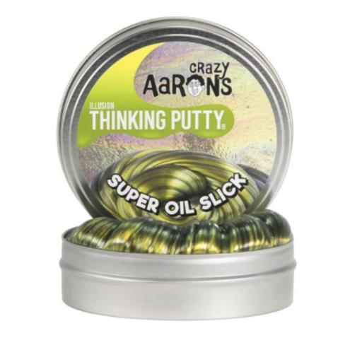 """CRAZY AARON CRAZY AARON'S 4"""" SUPER OIL SLICK THINKING PUTTY"""