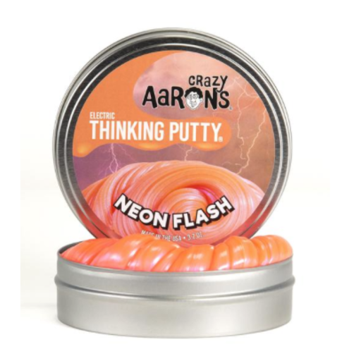 "CRAZY AARON CRAZY AARON'S 2"" NEON FLASH THINKING PUTTY"