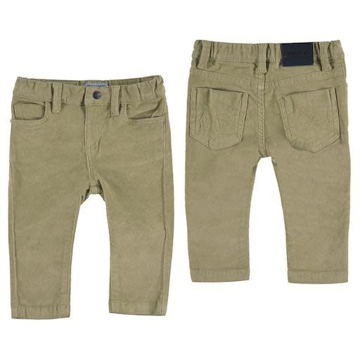 MAYORAL USA BASIC SLIM FIT CORD TROUSERS - BB1103864