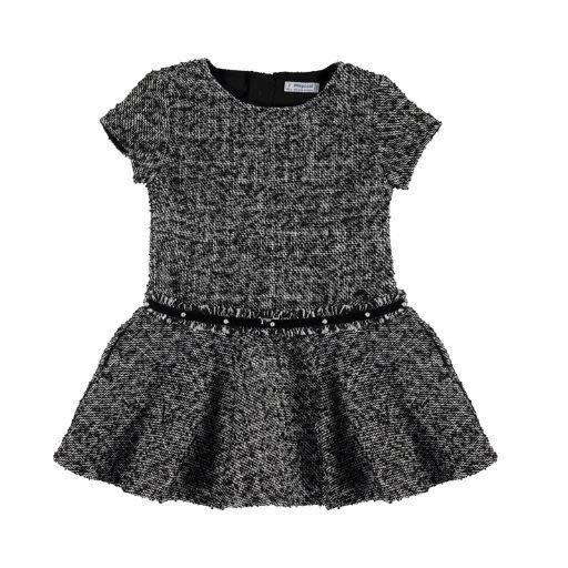 MAYORAL USA DRESS WITH PEARL BELT