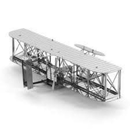 METAL EARTH -WRIGHT BROTHERS AIRPLANE