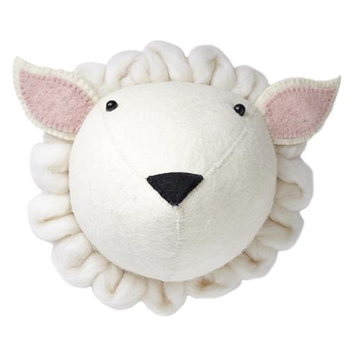 FIONA WALKER FIONA WALKER ENGLAND SHEEP HEAD WALL DECOR