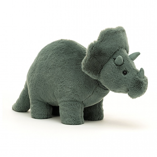 JELLYCAT INC FOSSILLY TRICERATOPS