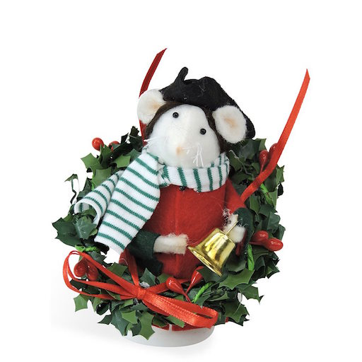 BYERS' CHOICE CHRISTMAS MOUSE BOY