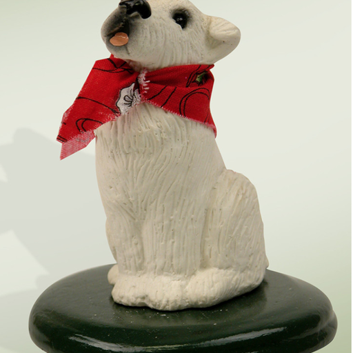 BYERS' CHOICE JACK RUSSEL DOG