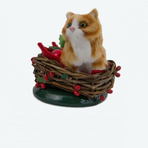 BYERS' CHOICE YELLOW CAT