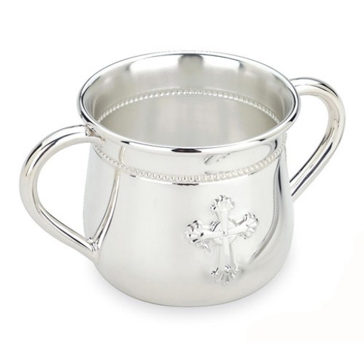 REED & BARTON ABBEY DOUBLE-HANDLE BABY CUP