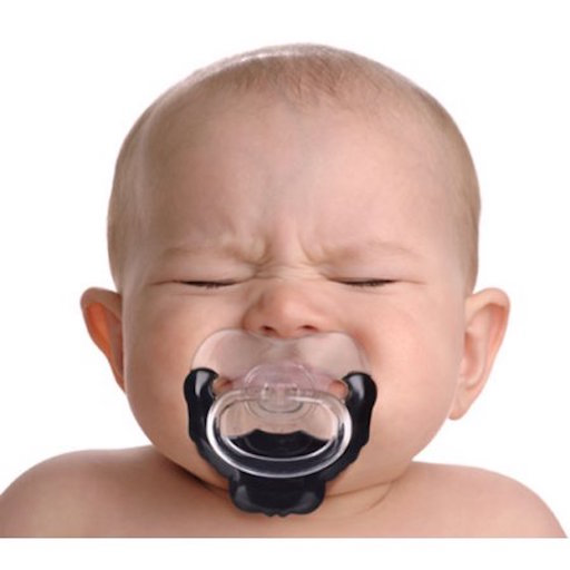 FRED & FRIENDS CHILL BABY GOATEE PACIFIER