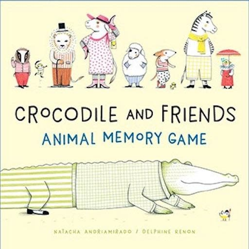 CHRONICLE BOOKS CROCODILE AND FRIENDS ANIMAL MEMORY GAME