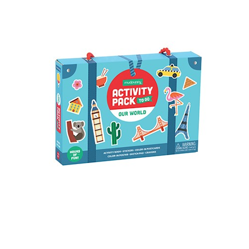 CHRONICLE BOOKS OUR WORLD ACTIVITY PACK TO GO