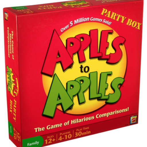 CONTINUUM GAMES APPLES TO APPLES PARTY BOX