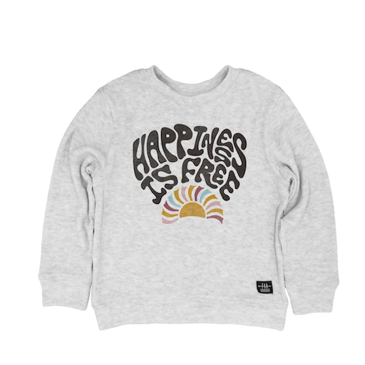 FEATHER 4 ARROW HAPPINESS IS FREE HACCI PULLOVER - BB1118976
