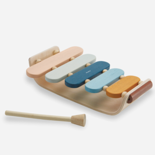 PLAN TOYS, INC. OVAL XYLOPHONE ORCHARD