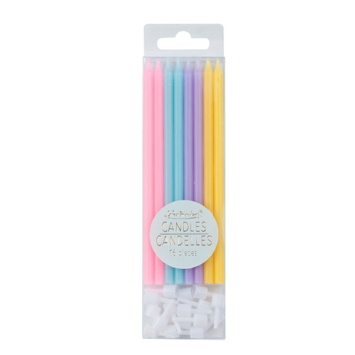 GREAT PRETENDERS RAINBOW PARTY CANDLES