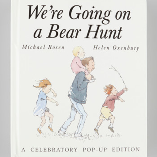 SIMON & SCHUSTER WE'RE GOING ON A BEAR HUNT POP UP
