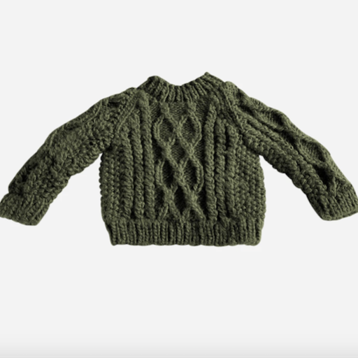 THE BLUEBERRY HILL FISHERMAN SWEATER - BB1115705