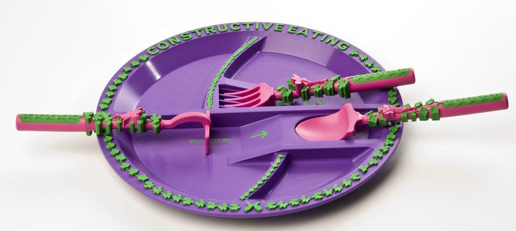 CONSTRUCTIVE EATING GARDEN PLATE