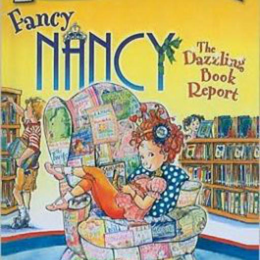 HARPER COLLINS PUBLISHERS FANCY NANCY THE DAZZLING BOOK REPORT
