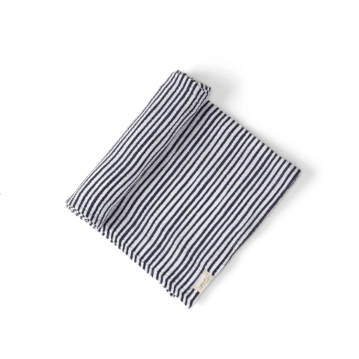 PEHR WRAP ME UP STRIPED SWADDLE