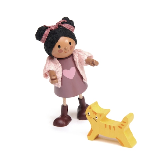 TENDER LEAF TOYS AYANA AND HER CAT