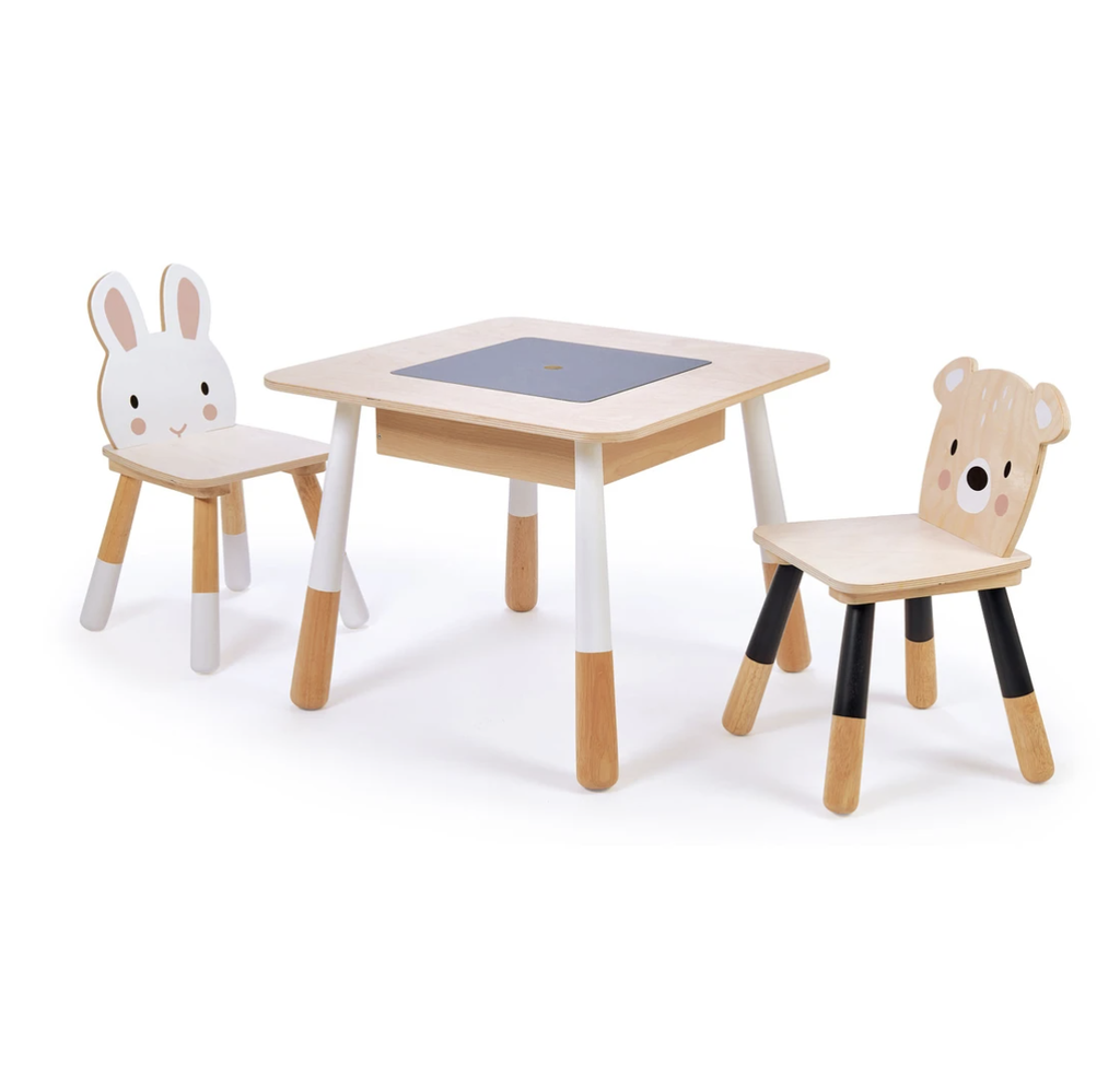 TENDER LEAF TOYS FOREST TABLE AND CHAIRS
