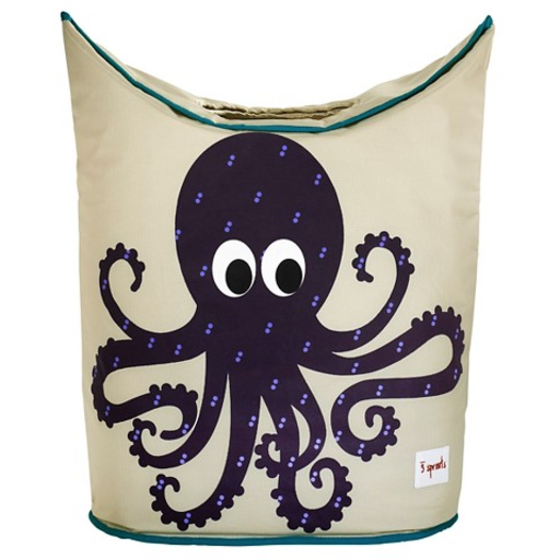 3 SPROUTS 3 SPROUTS OCTOPUS LAUNDRY HAMPER
