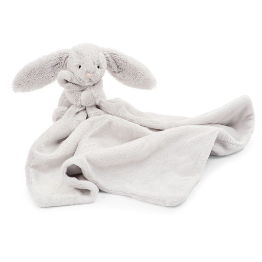 JELLYCAT INC BASHFUL GREY BUNNY SOOTHER