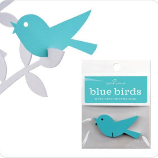 WISHING BIRD BLUE