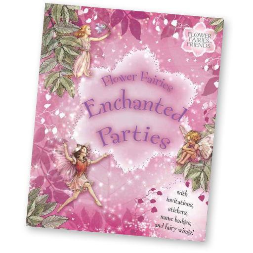 REUTTER PORCELAIN FLOWER FAIRIES ENCHANTED PARTIES BOOK