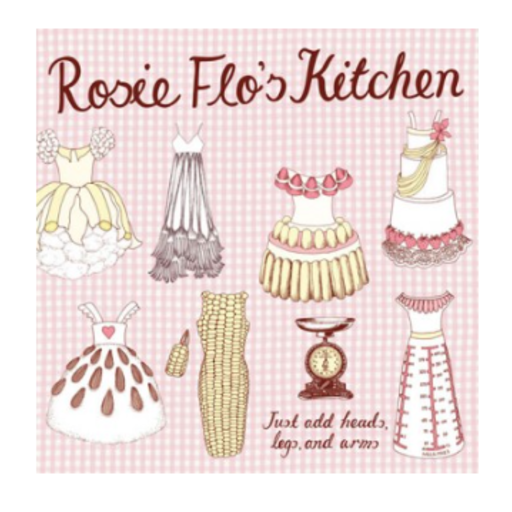 CHRONICLE BOOKS ROSIE FLO'S KITCHEN COLORING BOOK