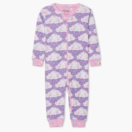HATLEY CHEERFUL CLOUDS ORGANIC COTTON  COVERALL